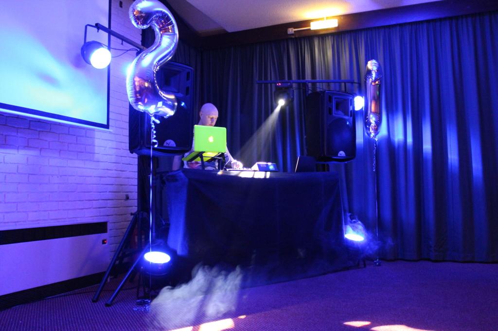 Samuel's 21st DJ Setup