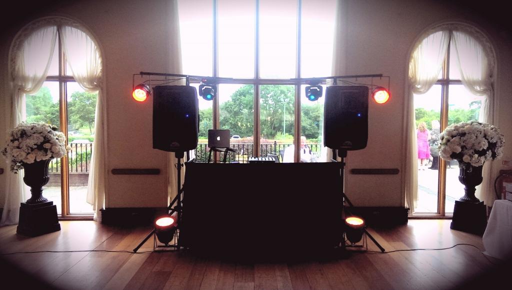 Mobile DJ Setup