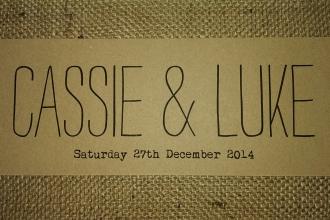 Cassie & Luke