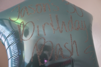 Jason's 30th