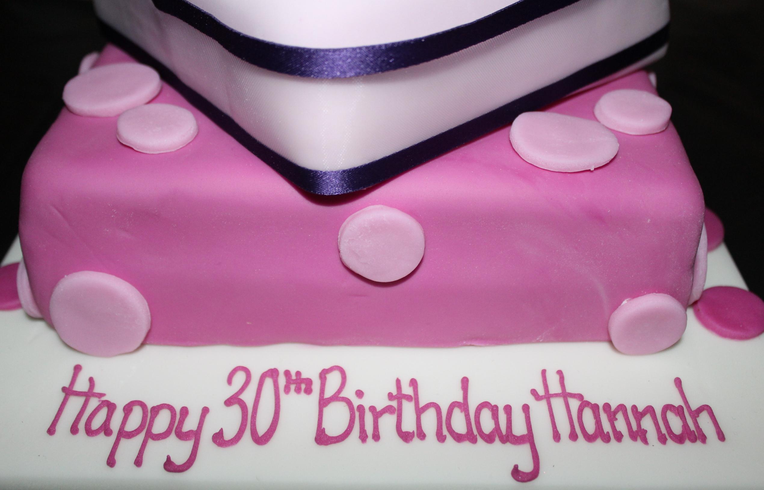 Hannah's 30th